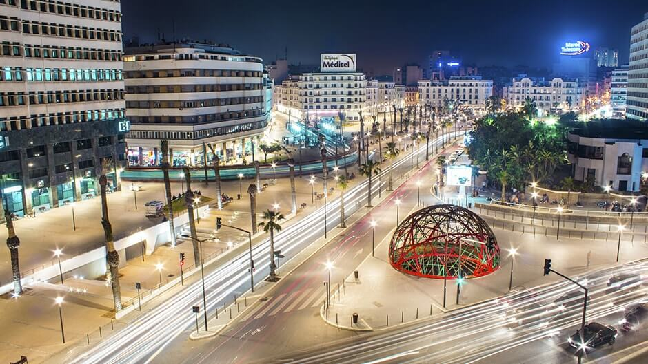 Casablanca, quartier d'affaires